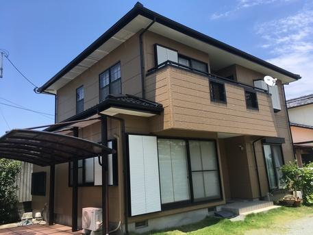 屋根、外壁塗装工事